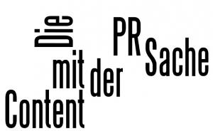 Die Sache mit der Content PR